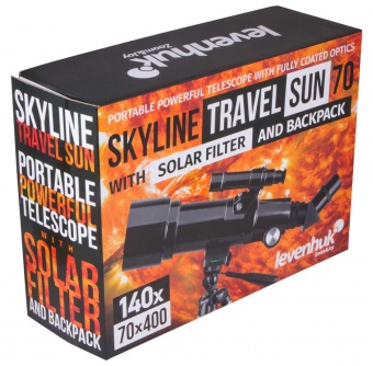 Телескоп Levenhuk Skyline Travel Sun 70