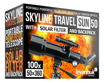 Телескоп Levenhuk Skyline Travel Sun 50